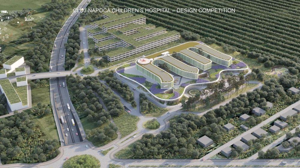 Children's Hospital Cluj-Napoca Design