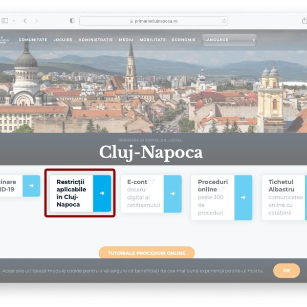 Restrictions in Cluj-Napoca