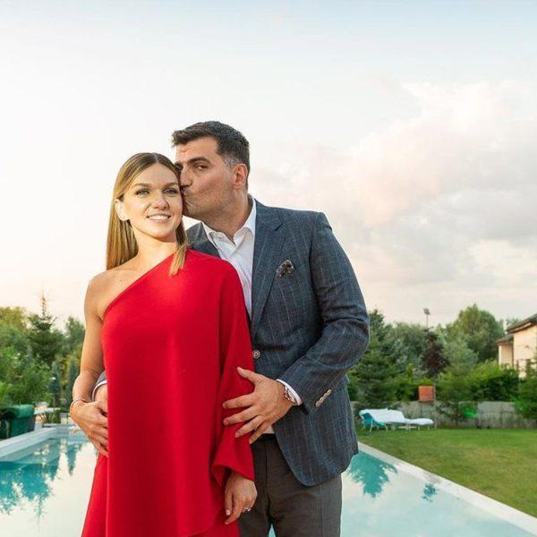 Simona Halep and Toni Iuruc