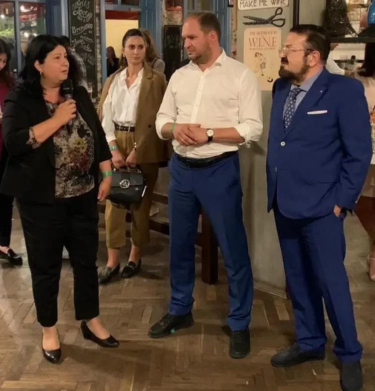 Emilia Botezan (Primiaria Cluj-Napoca), Ion Ceban (Mayor of Chișinău), Antonio Patane (Founder - FSP Global)