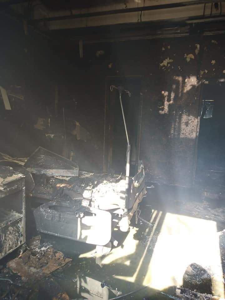Constanta ICU Fire - Amateur Photo