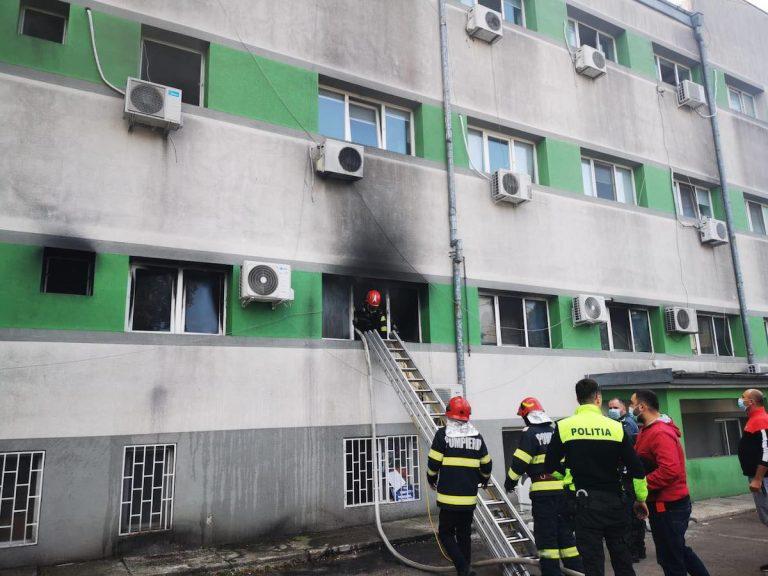 ICU Fire in Constanta
