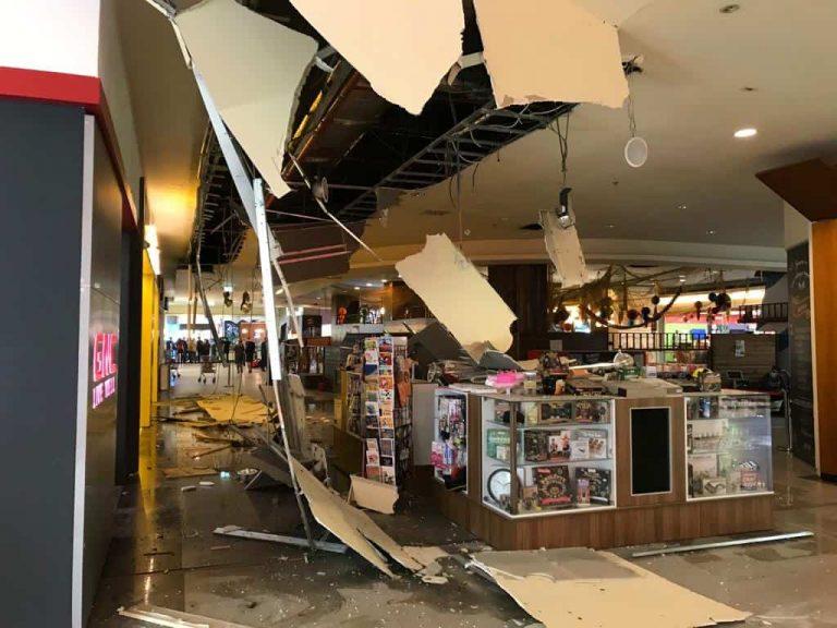 Iulius Mall Ceiling Collapse