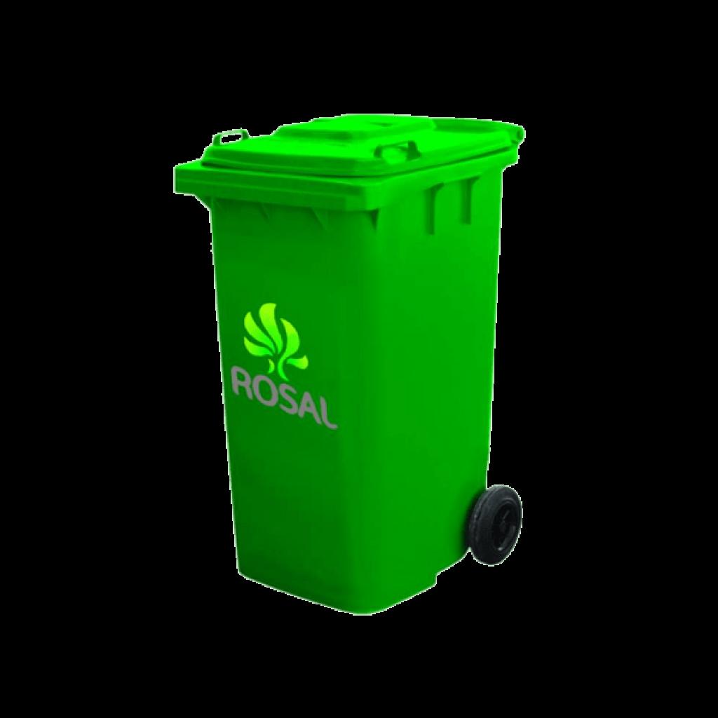 Glass Trash Can